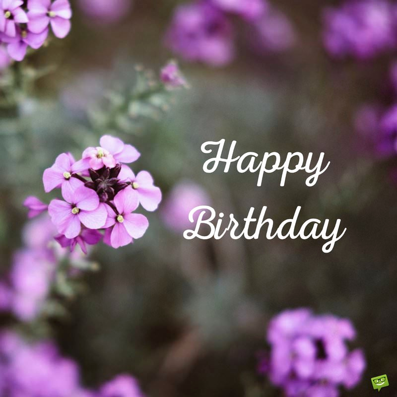 Free Happy Birthday Picture Awesome Floral Wishes Ecards