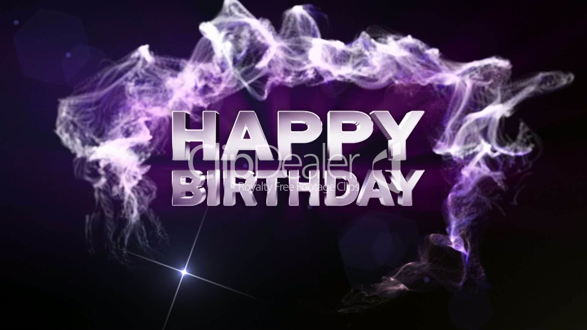 Free Happy Birthday Picture Fresh Happy Birthday Text In Particle Double Version Blue
