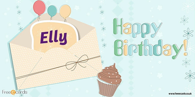 Free Happy Birthday Picture Luxury Happy Birthday Elly Free Ecards