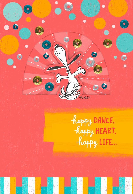 Free Happy Birthday Picture New Snoopy Happy Dance Birthday Card Greeting Cards Hallmark