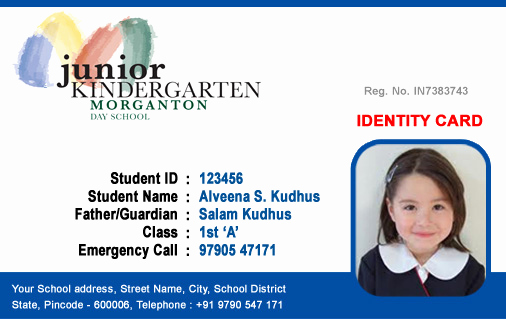 Free Id Card Template Luxury Id Cards Student Id Card Free Template