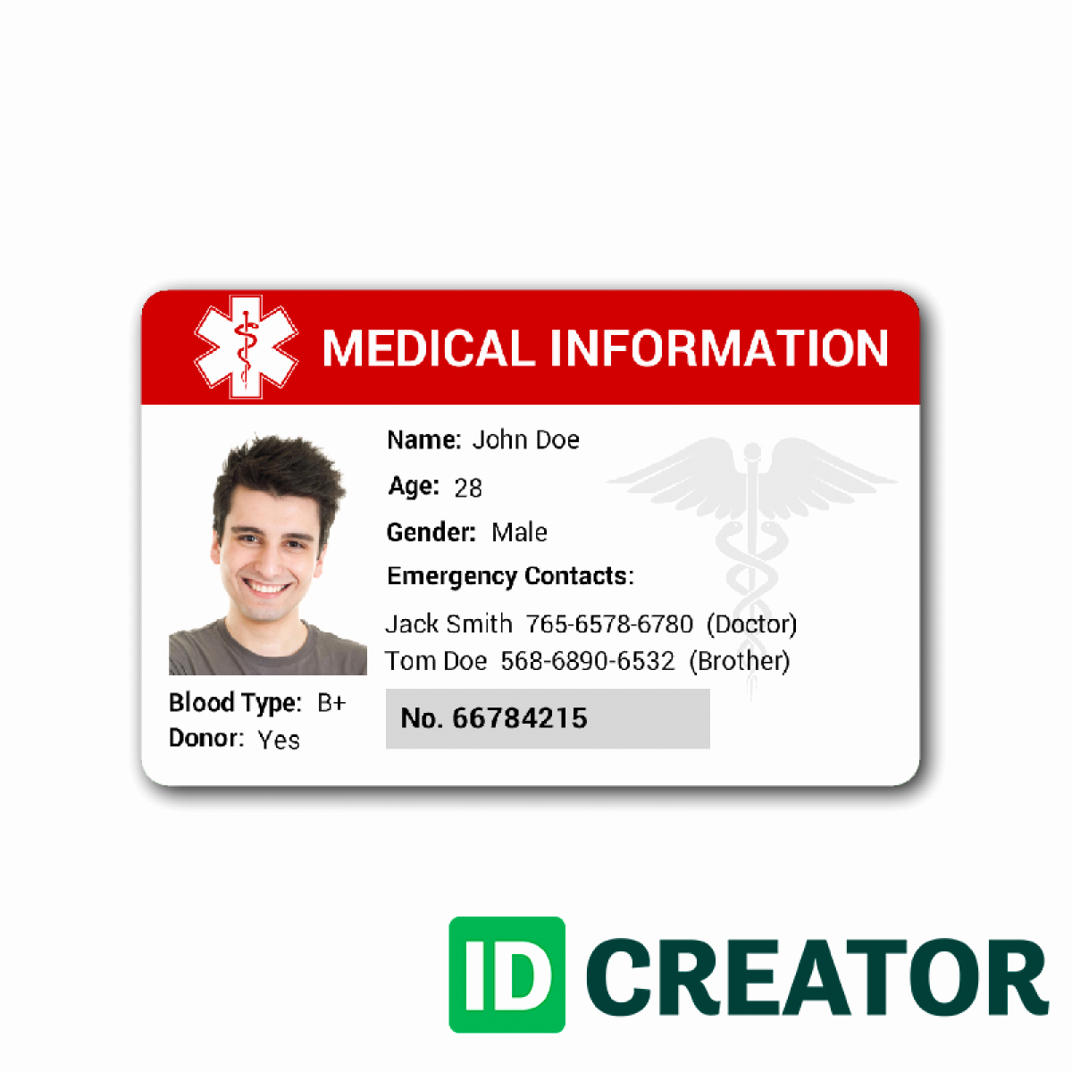 Free Id Card Template Unique Id Card Template