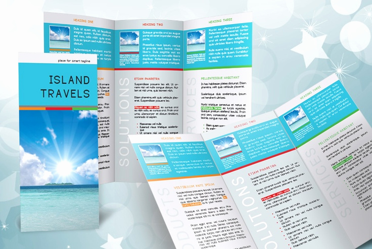 Free Indesign Brochure Templates Awesome Indesign Tri Fold Brochure Template Free