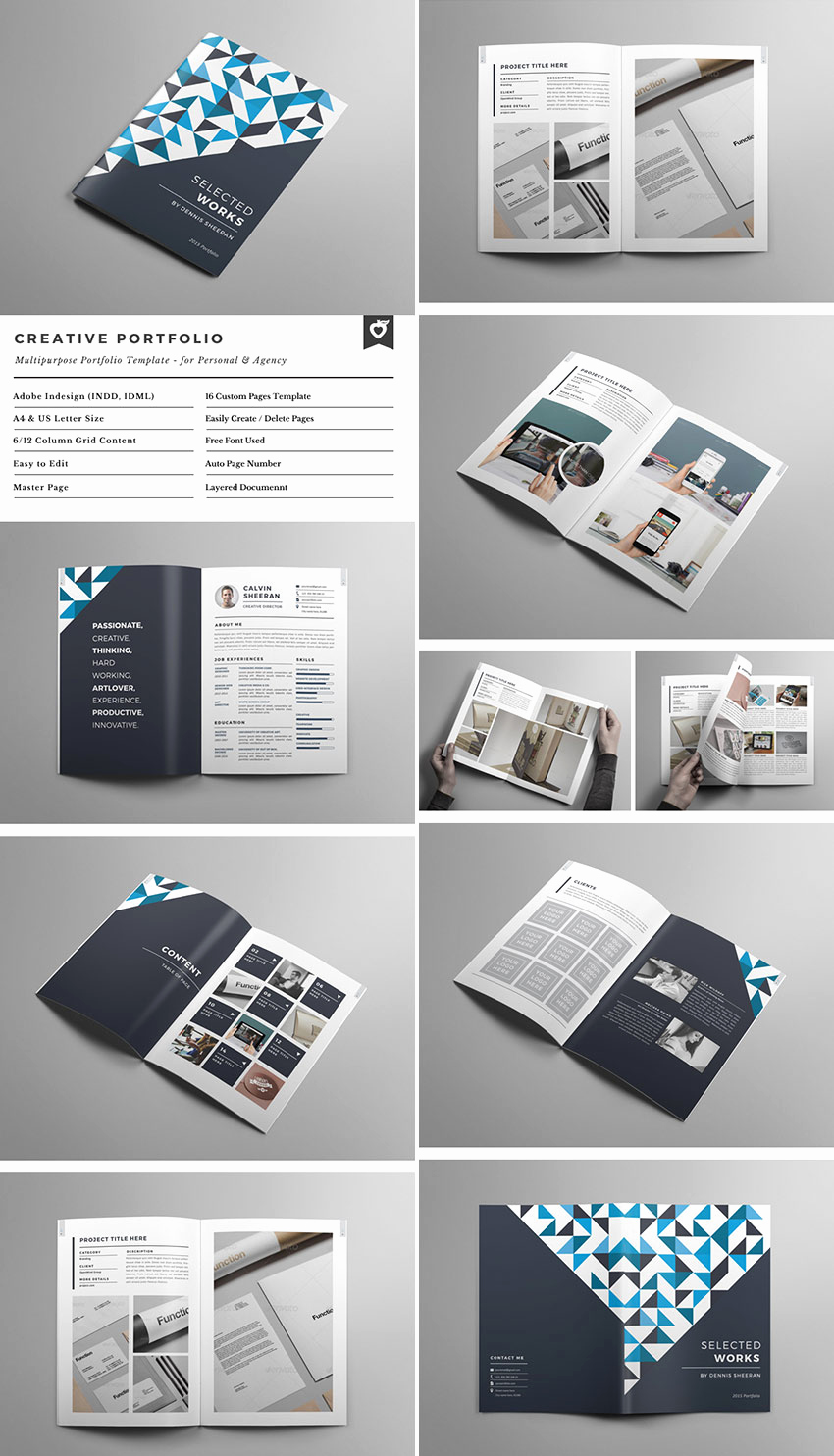 Free Indesign Brochure Templates Beautiful 20 Best Indesign Brochure Templates for Creative