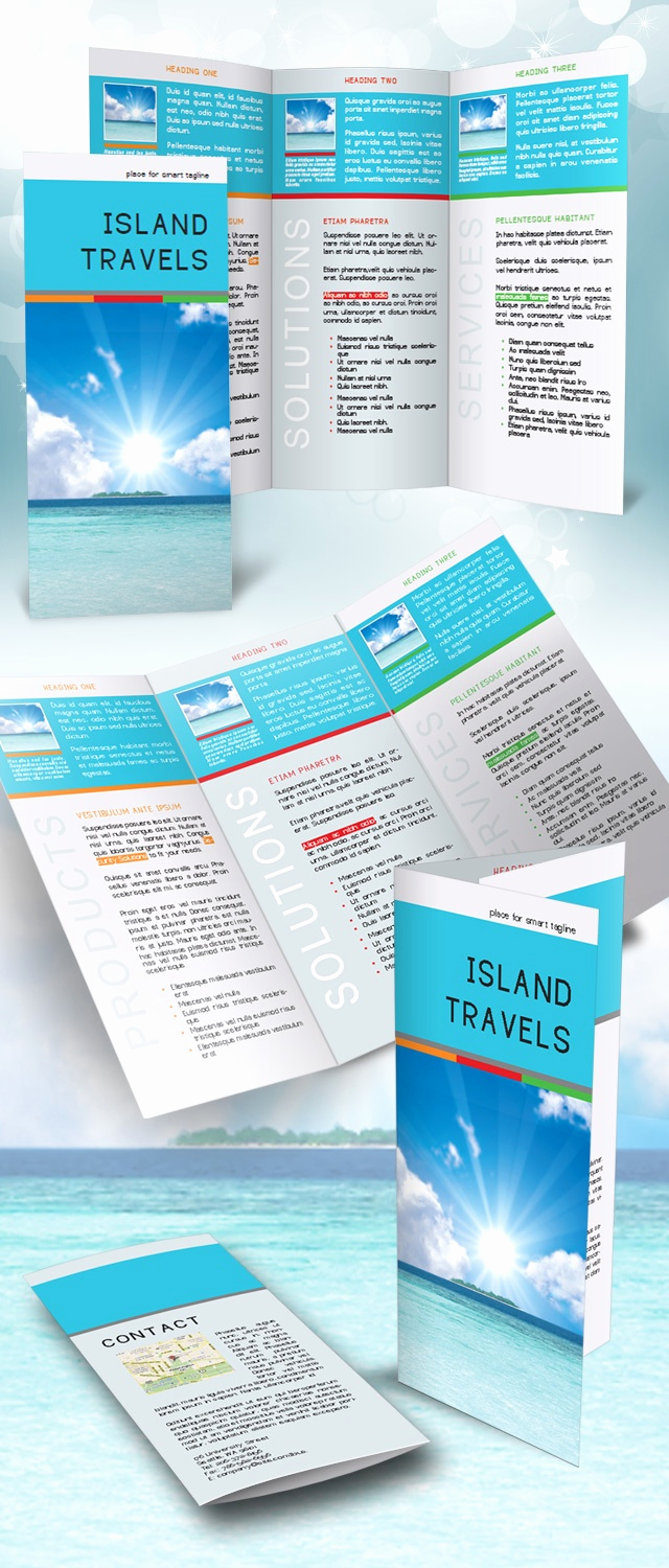 Free Indesign Brochure Templates Best Of Indesign Tri Fold Brochure Template Free