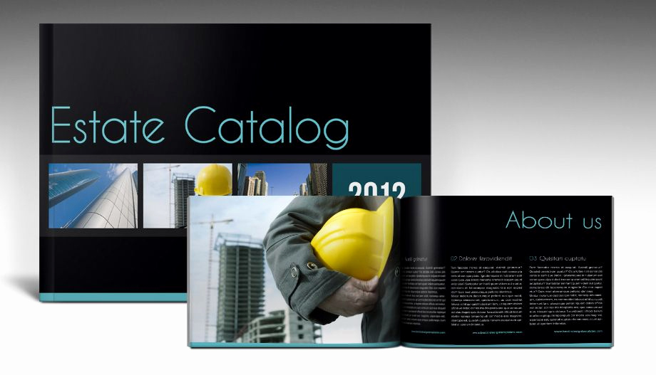 Free Indesign Brochure Templates Best Of Stylish Indesign Brochure Template with Landscape Black