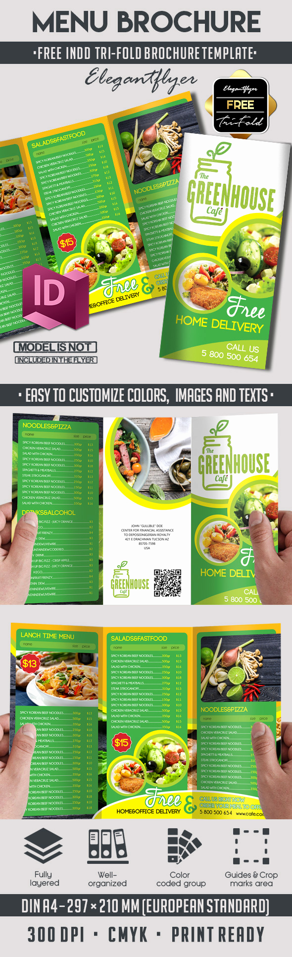 Free Indesign Brochure Templates Fresh 5 Powerful Free Adobe Indesign Brochures Templates – by