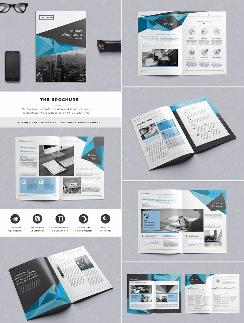Free Indesign Brochure Templates Fresh the Brochure Indd Print Template