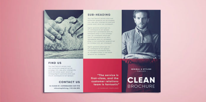 Free Indesign Brochure Templates Inspirational Amazing Clean Trifold Brochure Template