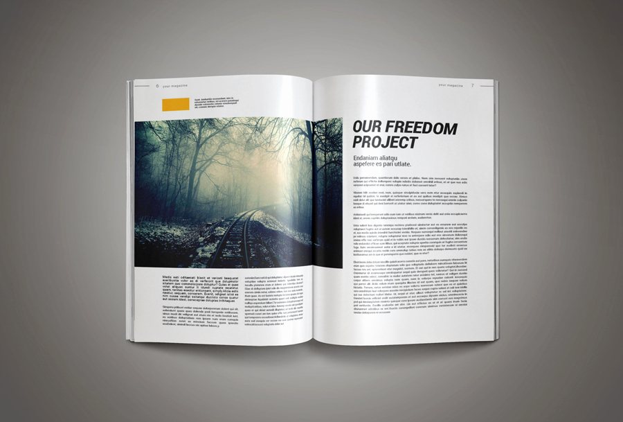 Free Indesign Magazine Templates Beautiful Inkdesign Magazine Template