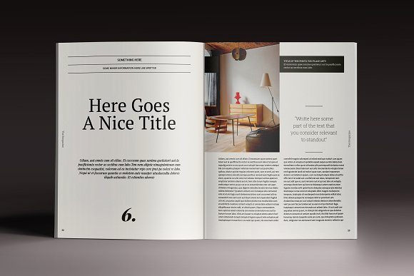 Free Indesign Magazine Templates Best Of Brogazine Indesign Template Magazine Templates On