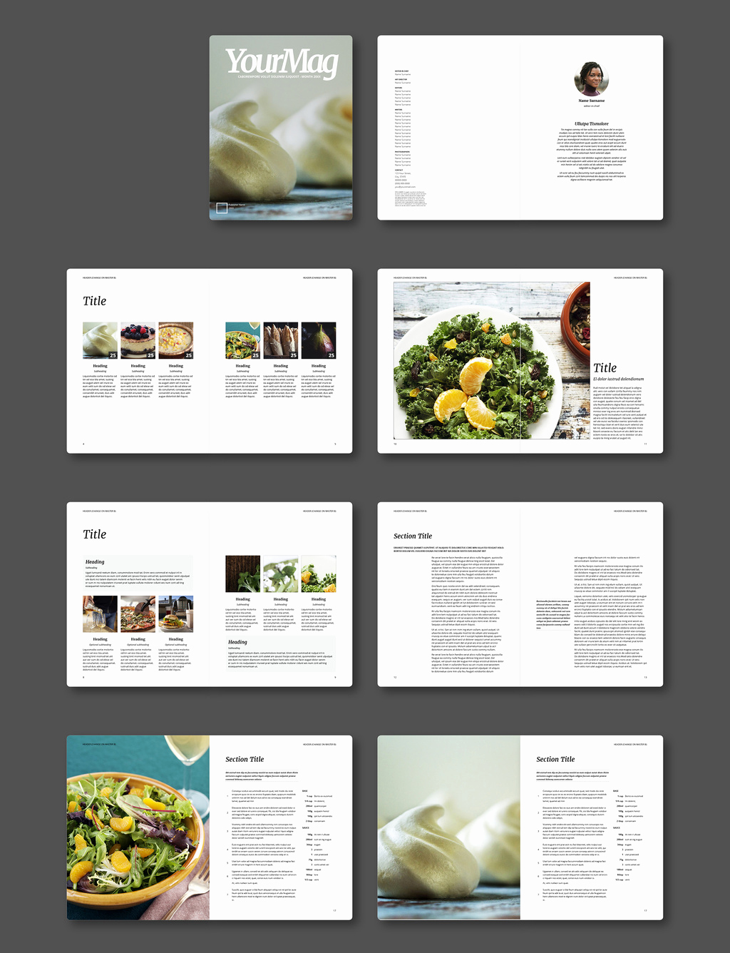Free Indesign Magazine Templates Fresh Free Indesign Magazine Templates