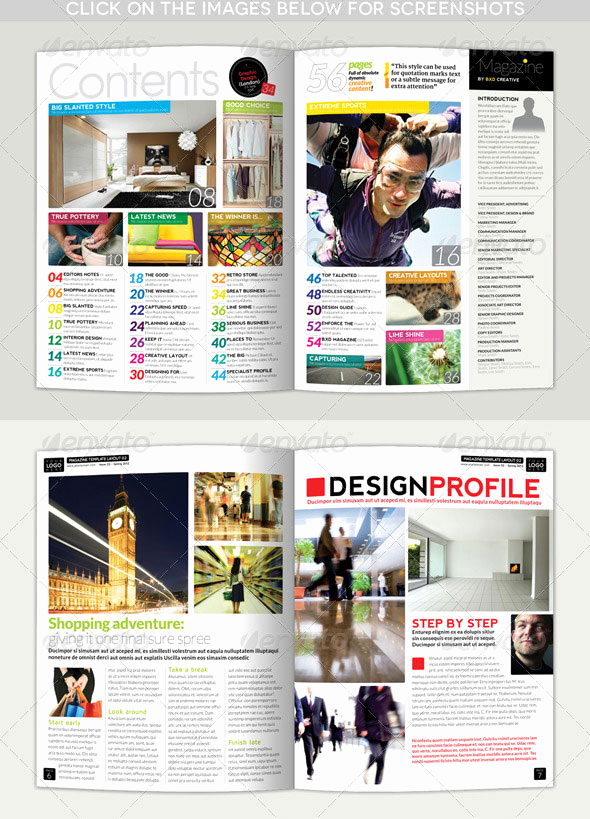Free Indesign Magazine Templates Inspirational 34 High Quality Psd & Indesign Magazine Templates