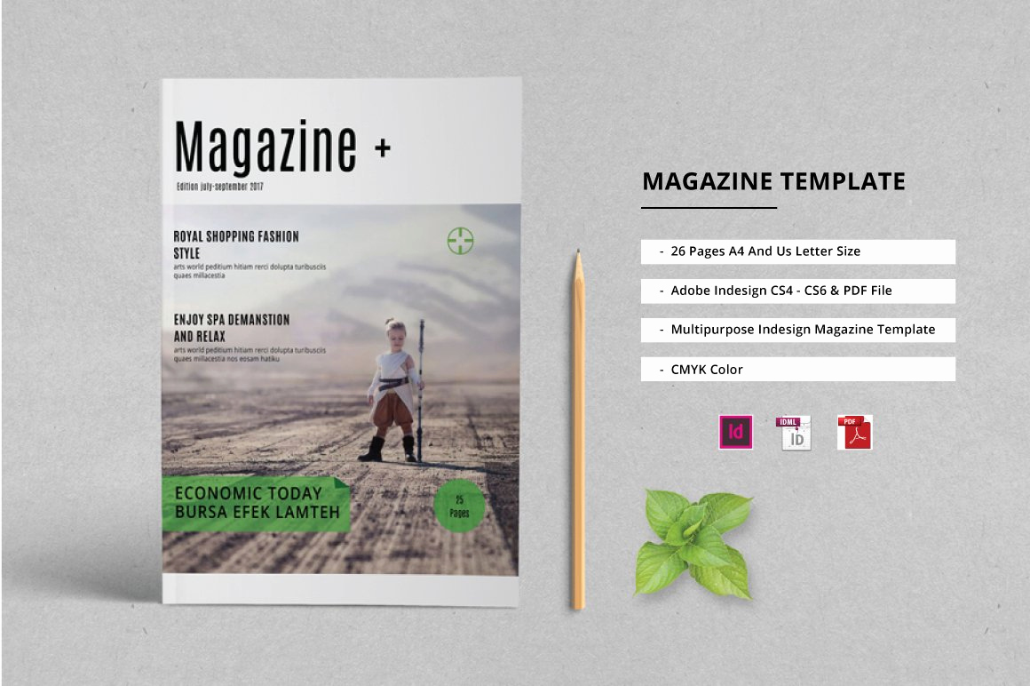 Free Indesign Magazine Templates Inspirational Indesign Magazine Template Magazine Templates Creative