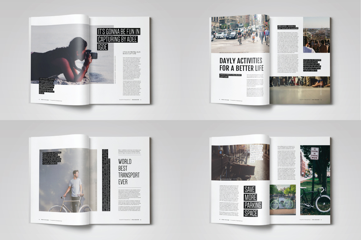 Free Indesign Magazine Templates Inspirational Indesign Magazine Template Magazine Templates On
