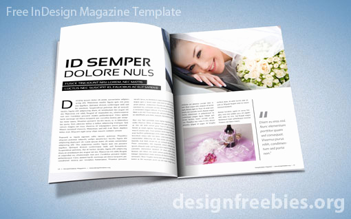 Free Indesign Magazine Templates Lovely Magazine Template Free