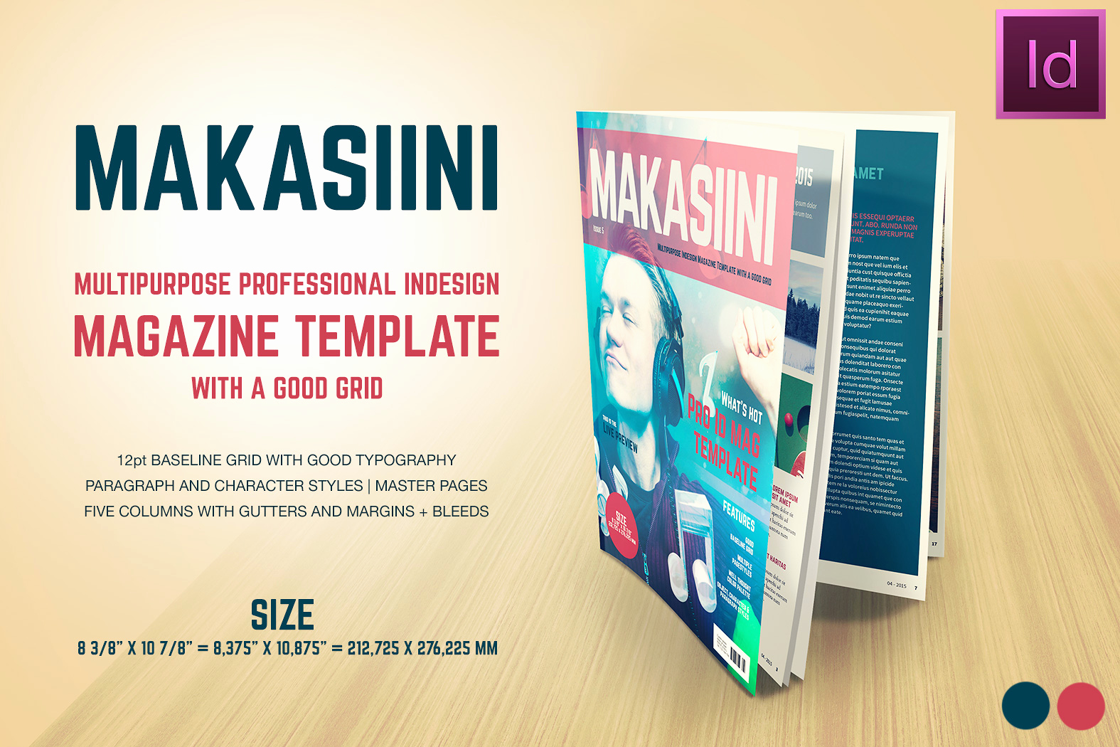 Free Indesign Magazine Templates Lovely Makasiini Indesign Mag Template Magazine Templates On