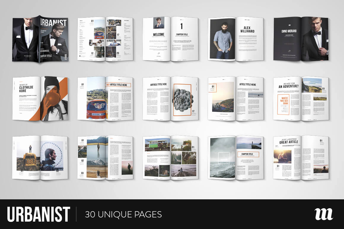 Free Indesign Magazine Templates New 20 Premium Magazine Templates for Professionals