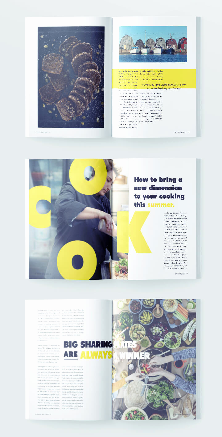 Free Indesign Magazine Templates New Stylish Food Magazine Template for Indesign