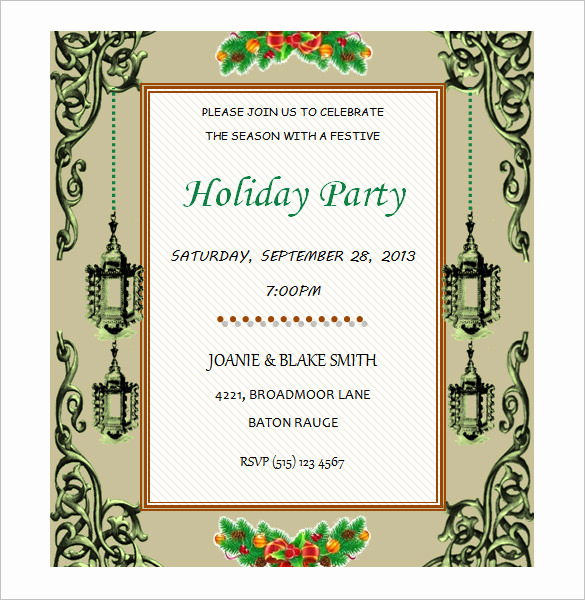 Free Invitation Templates for Word Awesome 50 Microsoft Invitation Templates Free Samples