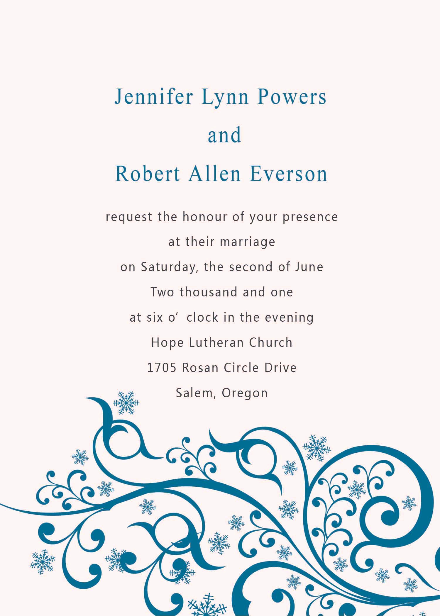Free Invitation Templates for Word Best Of Wedding Invitation Templates Word Wedding Invitation