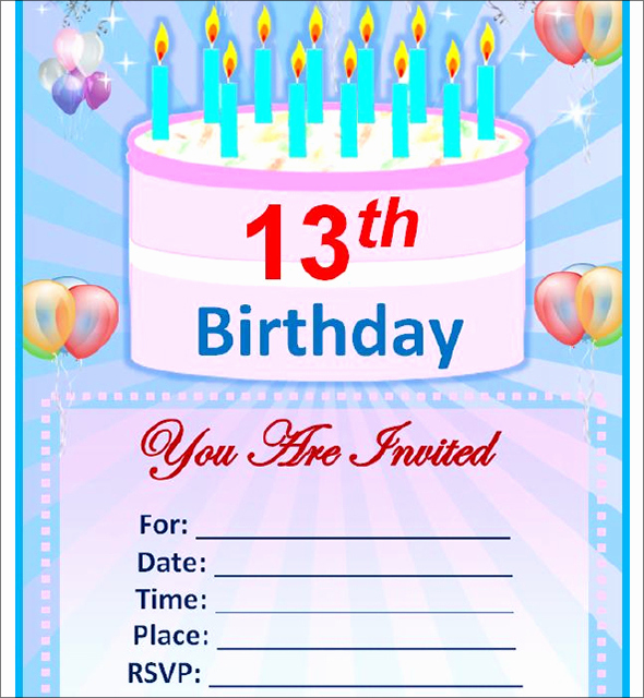 Free Invitation Templates for Word Fresh Free Birthday Invitation Templates for Word