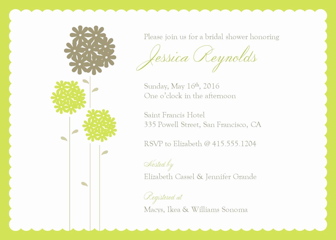 Free Invitation Templates for Word Unique Bridal Shower Invitations Bridal Shower Invitations