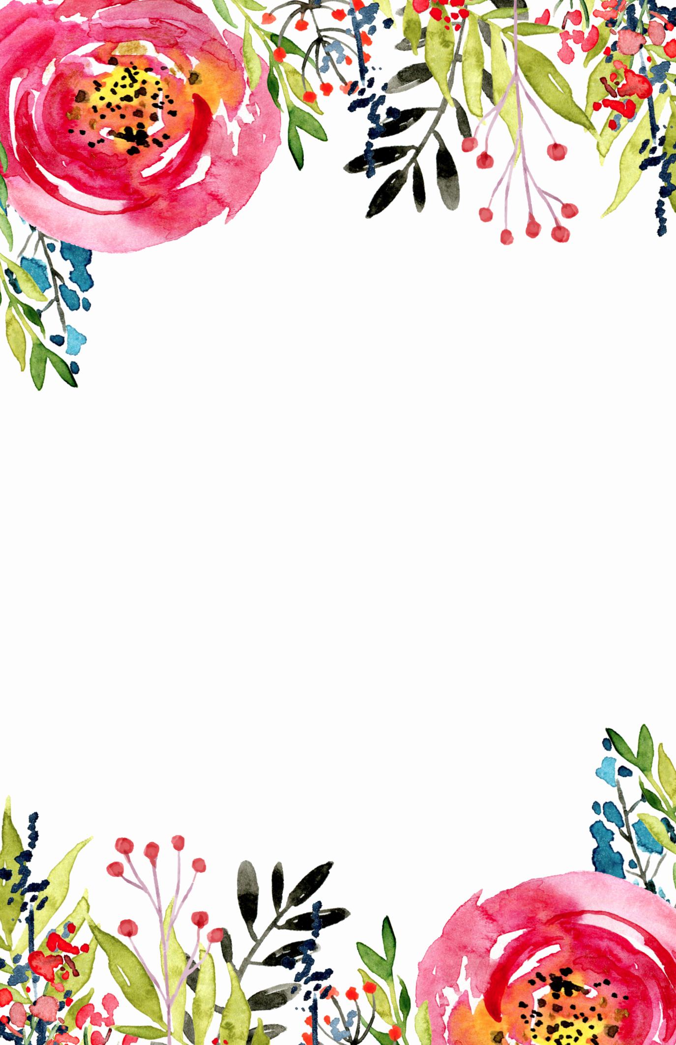 Free Invitation Templates Printable Lovely Floral Invitation Template Free Printable Paper Trail