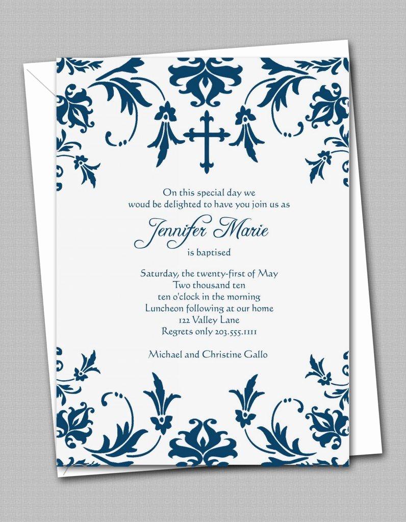 Free Invitation Templates Printable New Free Printable Confirmation Invitation Templates