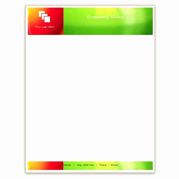 Free Letterhead Template Word New Six Free Letterhead Templates for Microsoft Word Business