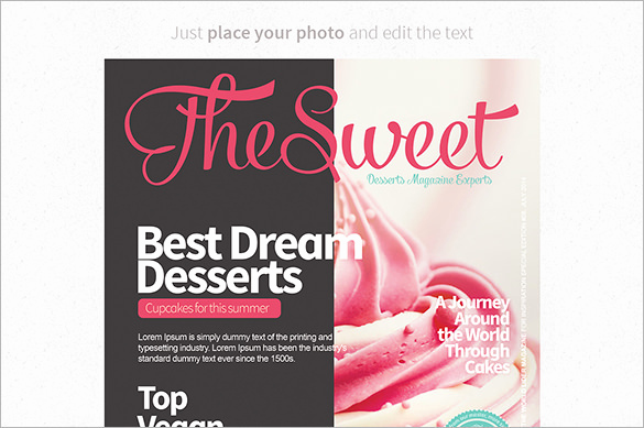 Free Magazine Cover Template Best Of 36 Magazine Cover Template Free Sample Example format