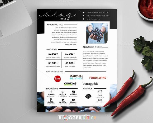 Free Media Kit Template New 32 Best Media Kit Design Examples Images On Pinterest