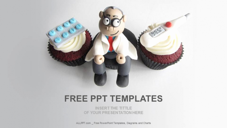 Free Medical Powerpoint Templates Inspirational Doctor themed Cupcakes Medical Ppt Download Free