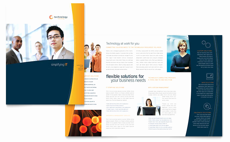 Free Microsoft Publisher Templates New Free Brochure Template Download Word & Publisher Templates