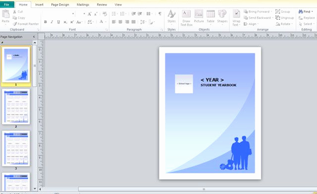 Free Microsoft Publisher Templates New Yearbook Template for Microsoft Publisher