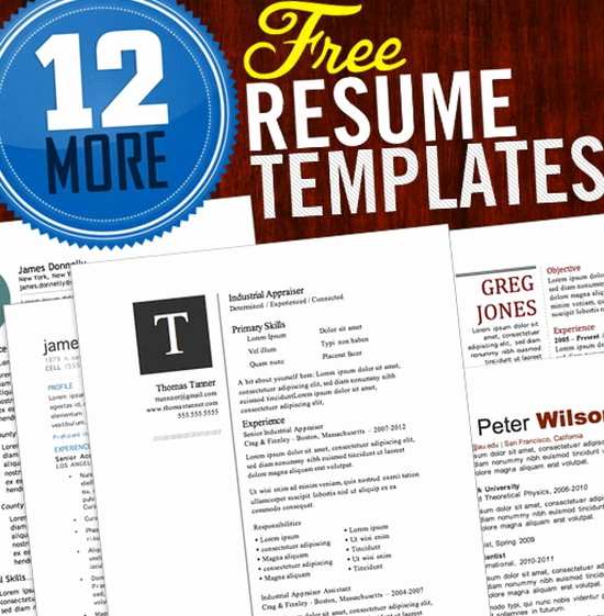 Free Microsoft Word Resume Templates Elegant Download 35 Free Creative Resume Cv Templates Xdesigns