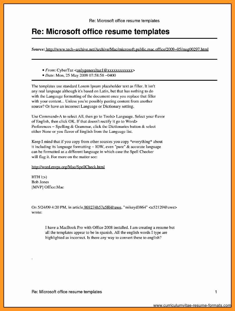 Free Microsoft Word Resume Templates Unique Microsoft Publisher Resume Templates