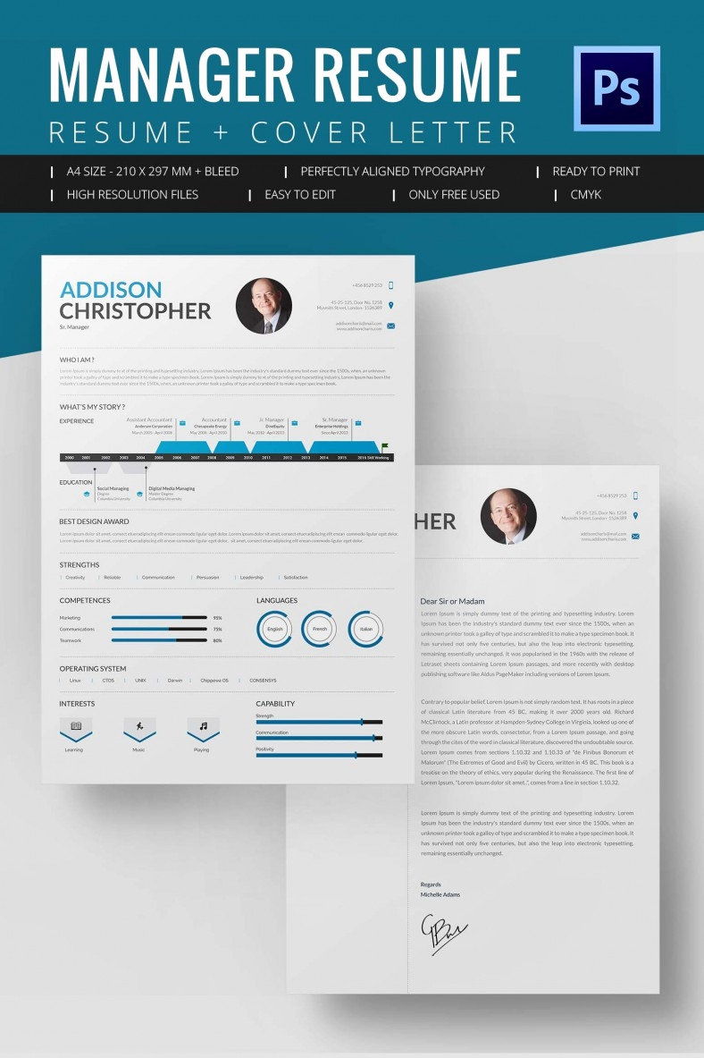 Free Microsoft Word Templates Awesome Project Manager Resume Template 10 Free Word Excel
