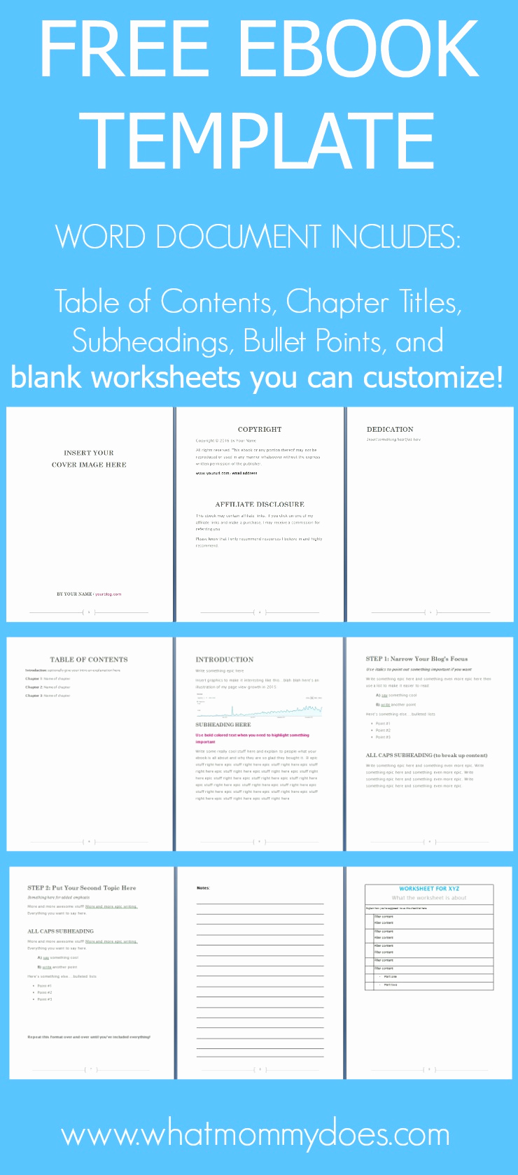 Free Microsoft Word Templates Best Of Free Ebook Template Preformatted Word Document What