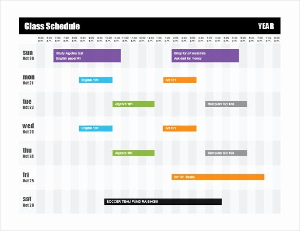 Free Microsoft Word Templates Elegant 16 Microsoft Word 2010 format Timetable Templates Free