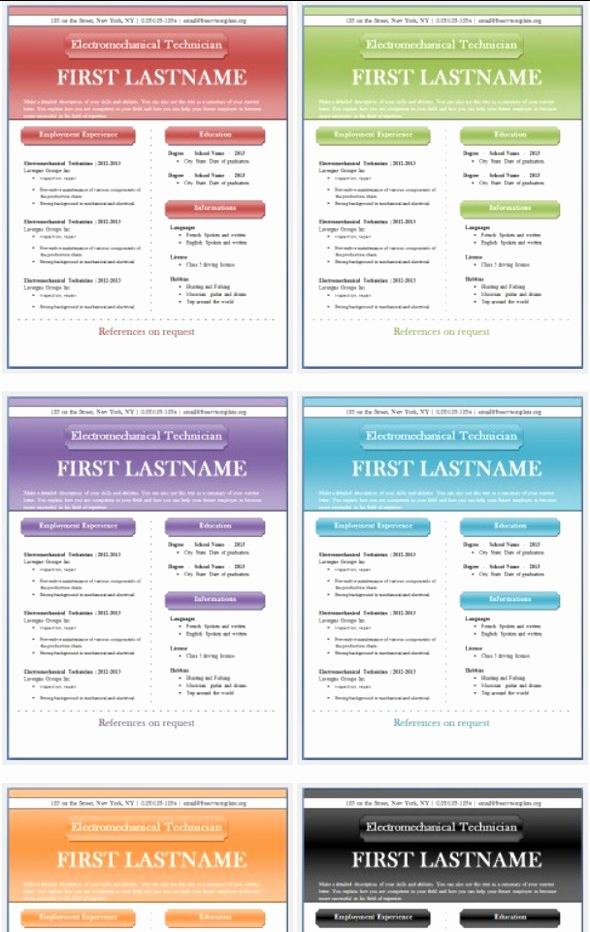 Free Microsoft Word Templates Elegant 50 Free Microsoft Word Resume Templates for Download