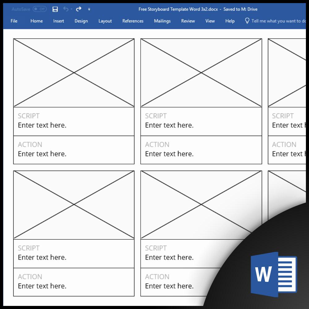 Free Microsoft Word Templates Elegant Free Storyboard Templates for Microsoft Word [cx]