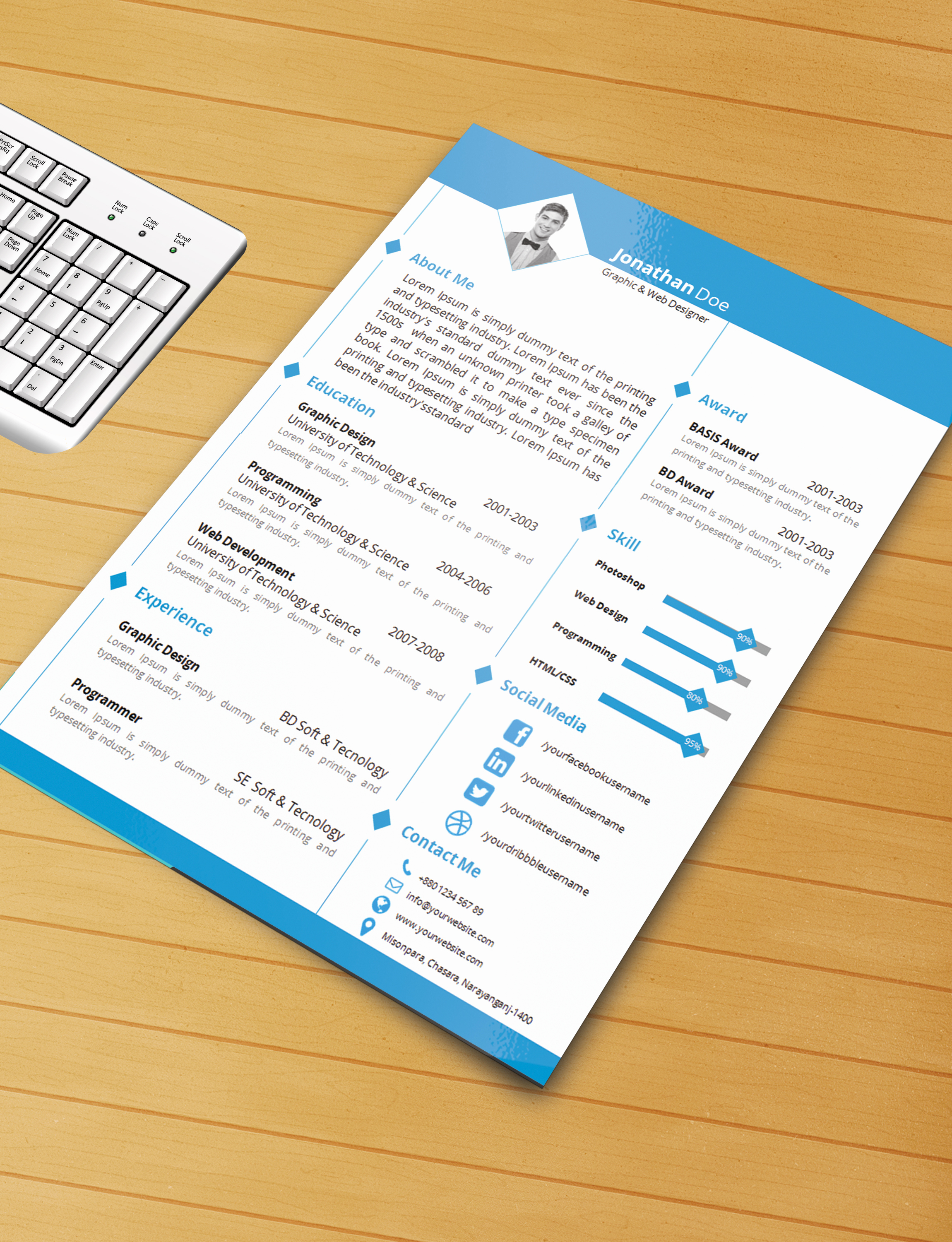 Free Microsoft Word Templates Fresh Resume Template with Ms Word File Free Download by