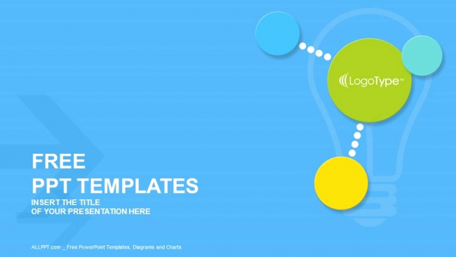 Free Modern Powerpoint Templates Elegant Colorful Modern Circles Powerpoint Templates