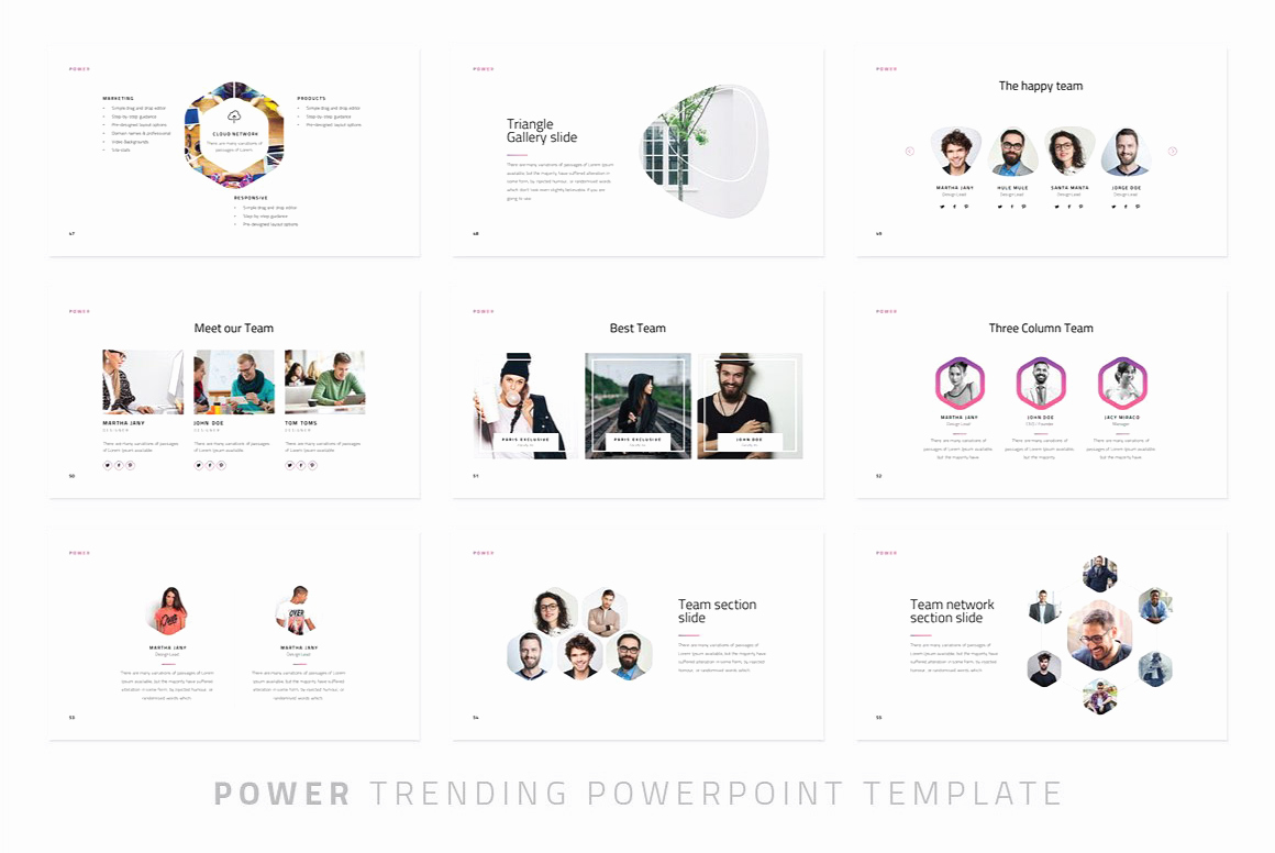 Free Modern Powerpoint Templates Elegant Power Modern Powerpoint Template Just Free Slides