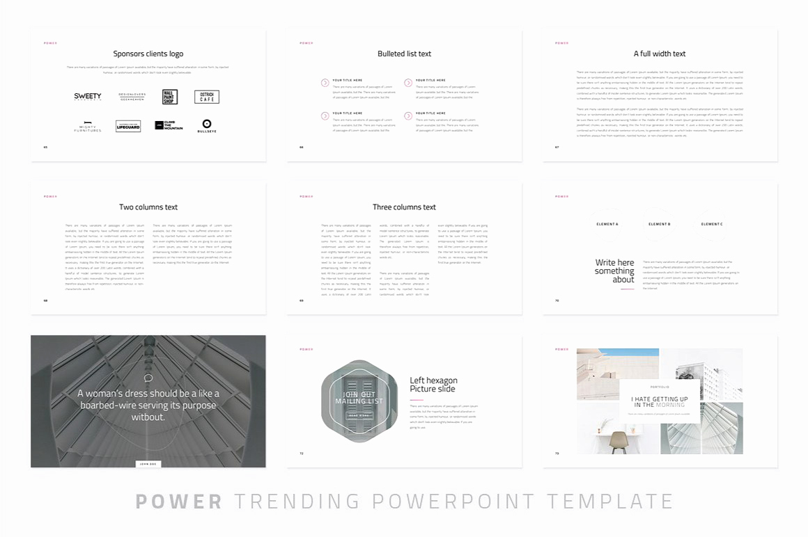 Free Modern Powerpoint Templates Luxury Power Modern Powerpoint Template Just Free Slides