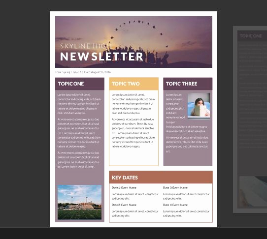 Free Newsletter Templates for Teachers Luxury 25 Best Ideas About Newsletter Template Free On Pinterest