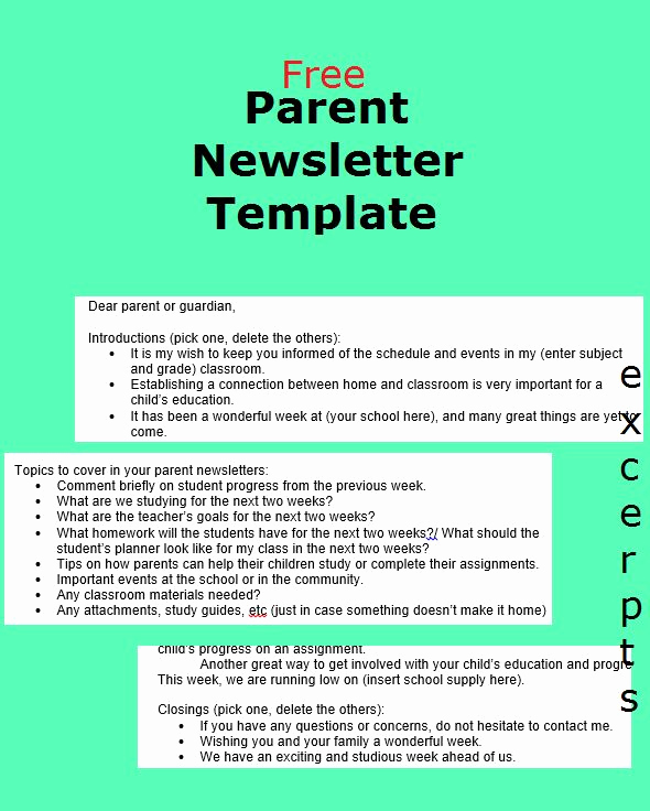 Free Newsletter Templates for Teachers New Best 10 Parent Newsletter Template Ideas On Pinterest