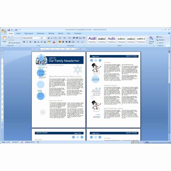 Free Newsletter Templates Word Elegant Download the top Free Microsoft Word Templates Newsletters