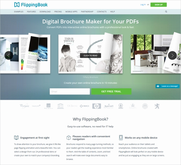 Free Online Brochure Maker Best Of 23 Free Brochure Maker tools to Create Your Own Brochure